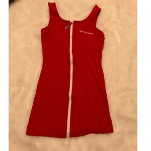 BUDWEISER : Red Mini Dress (small)